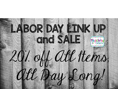 Labor Day Link Up and Sale