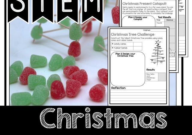 STEM Christmas Activities in the Classroom