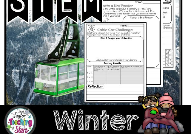 Fun & Engaging STEM Winter Activities