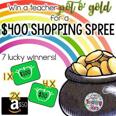 $400 Gift Card Pot of Gold for Teachers