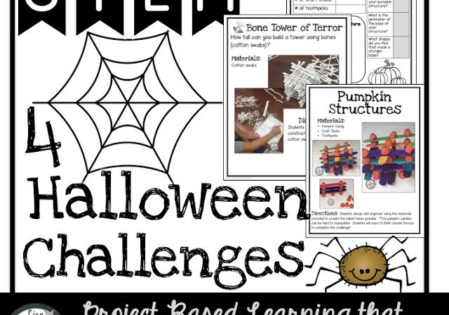 Halloween STEM and Student-Led Conferences