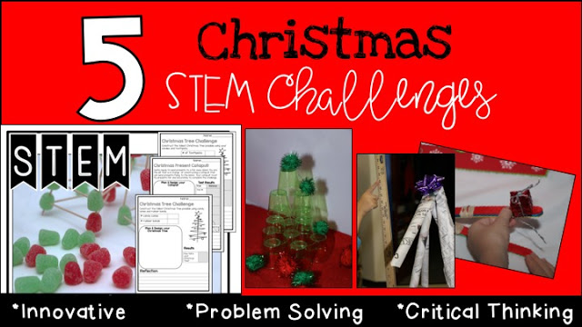 Christmas STEM: Ways to Engage Your Students Before the Holidays!