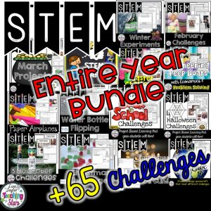 STEM Challenges for the Entire Year Bundle Supply List