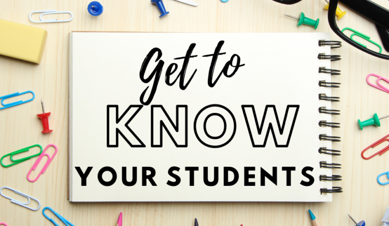 Back to School Activities: Get to Know Your 5th Grade Class