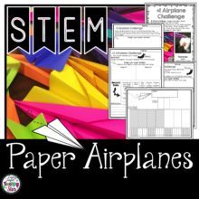 STEM Paper Airplanes Challenges