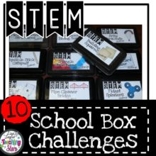 School Box STEM Challenges